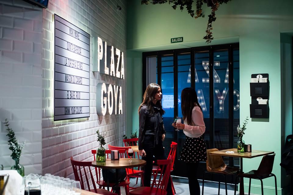 Inauguración de Plaza Goya, un espacio multifood en el centro de Zaragoza. Blog de Zaragoza Increíble pero cierzo