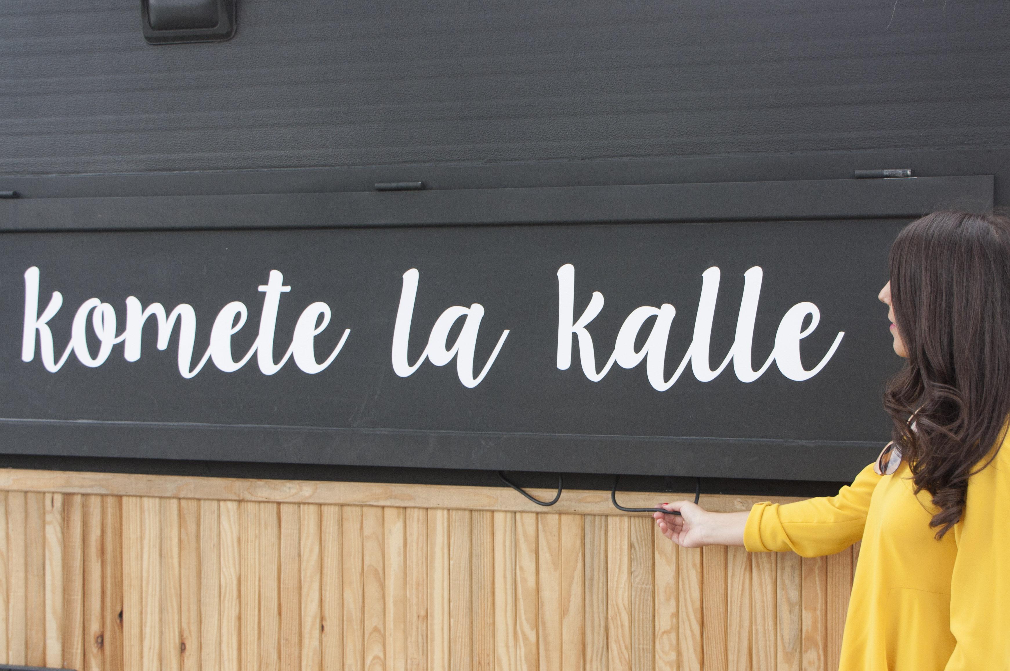 """""""Kómete la kalle"""" con las nuevas propuestas de street food en Puerto Venecia. Mercado del Puerto"""