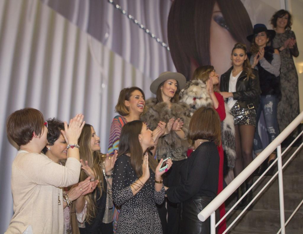 Desfile de moda de Galleta Boutique en el 15 Aniversario de Atrezzo pelqueria. Increible pero cierzo