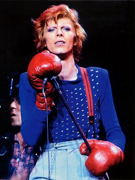 Bowie icono de moda por el blog de moda increibleperocierzo, laguiago.com