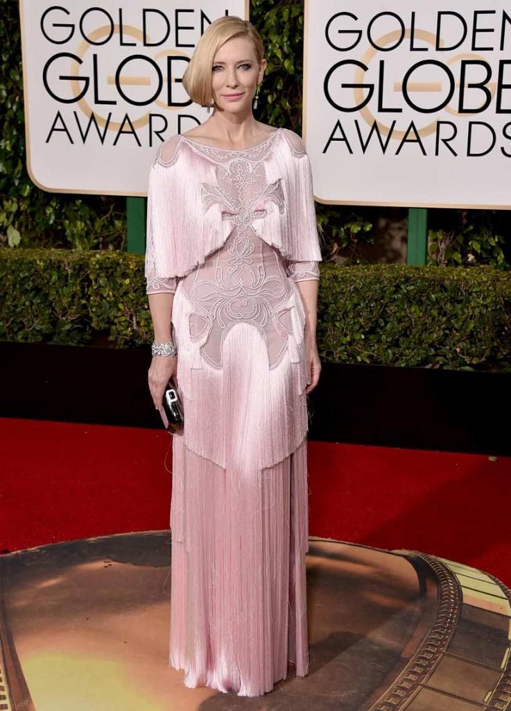 cate blanchett peores vestidas globos de oro 2016. Alfombra roja por increible peor cierzo