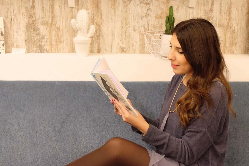 Andrea Martinez blogger del blog de Zaragoza increible pero cierzo en el restaurante de moda Sofood