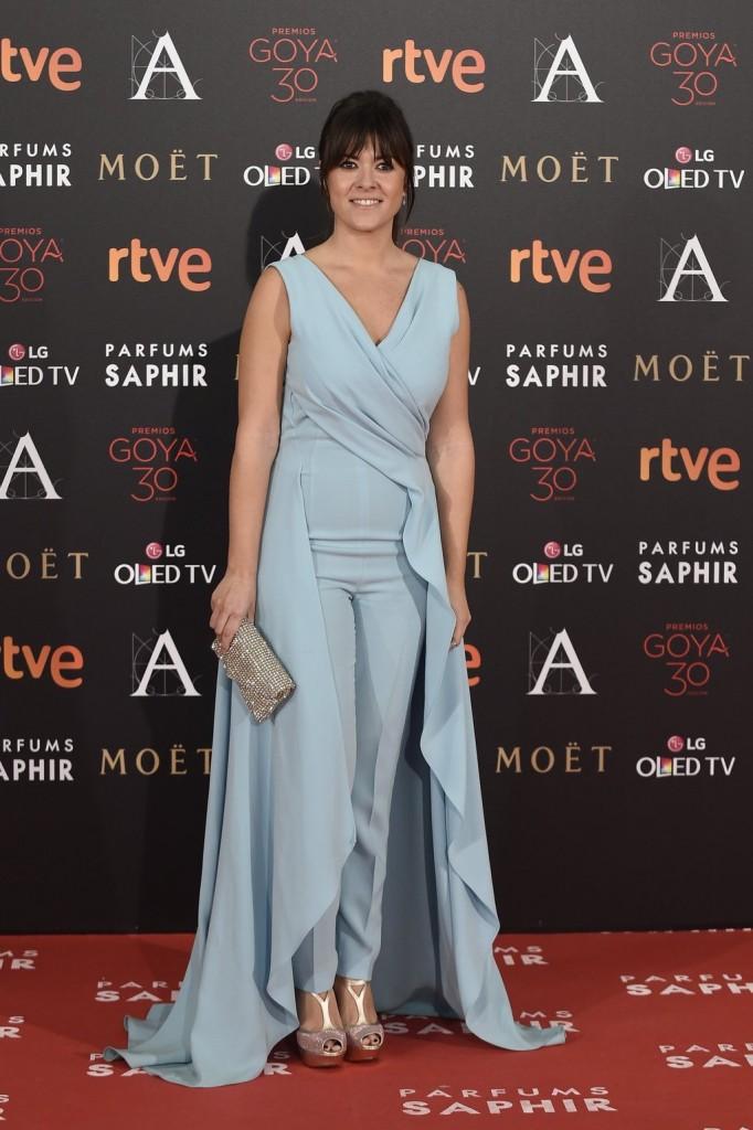 Vanesa Martin entre las peor vestidas de la gala de los goya 2016 según el blog de moda increíble pero cierzo