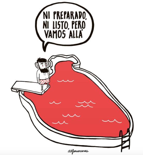 Frases de Alfonso Casas de su libro Sentimental en el blog increible pero cierzo