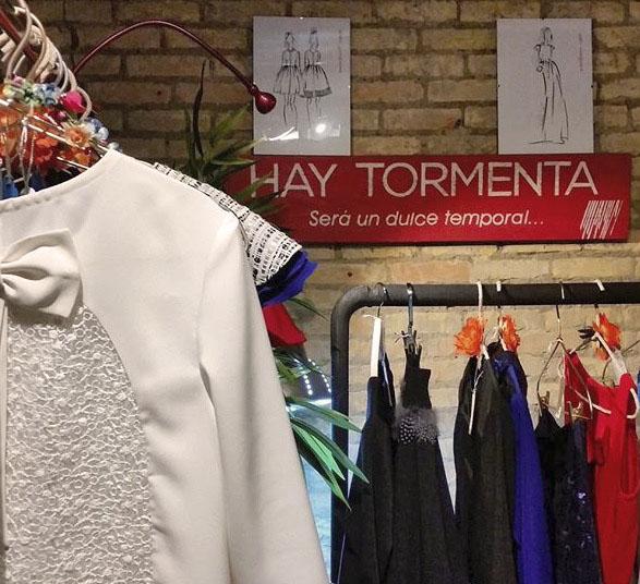 Colección de fiesta de Hay Tormenta en Zaragoza. Blog de moda increible pero cierzo