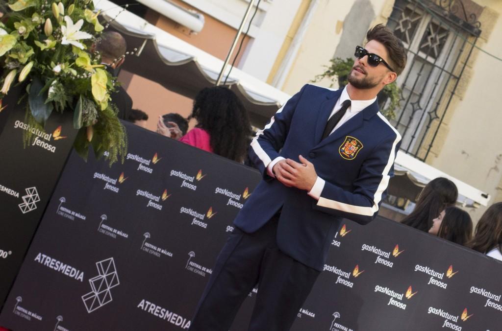 Luis Fernandez Lucho en inauguración 19 edición festival cine málaga por el blog de moda y lifestyle increíble pero cierzo de laguiago.com