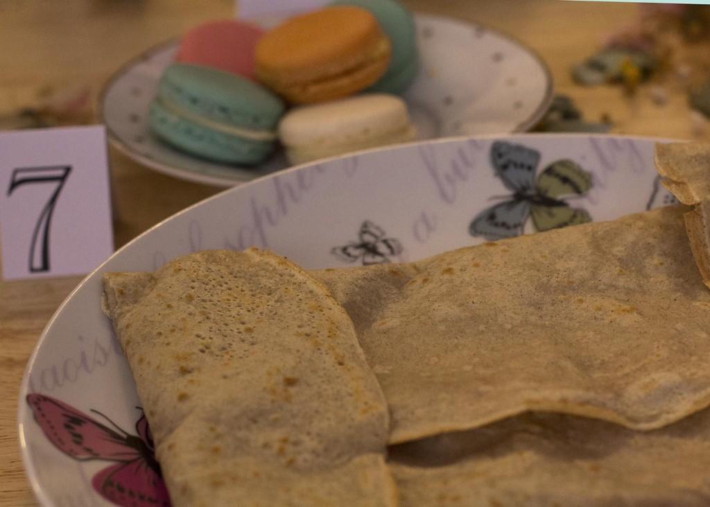 Qdada Molona en La Creperie de Zaragoza. Un evento molon entre crepes, macarons de le Petit Croissant, flores de The Frogs Kiss y mucho mas. Blog de moda y lifestyle de Zaragoza Increible pero cierzo