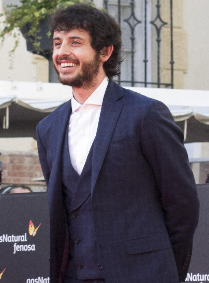 Javier Pereira en inauguración 19 edición festival cine málaga por el blog de moda y lifestyle increíble pero cierzo de laguiago.com