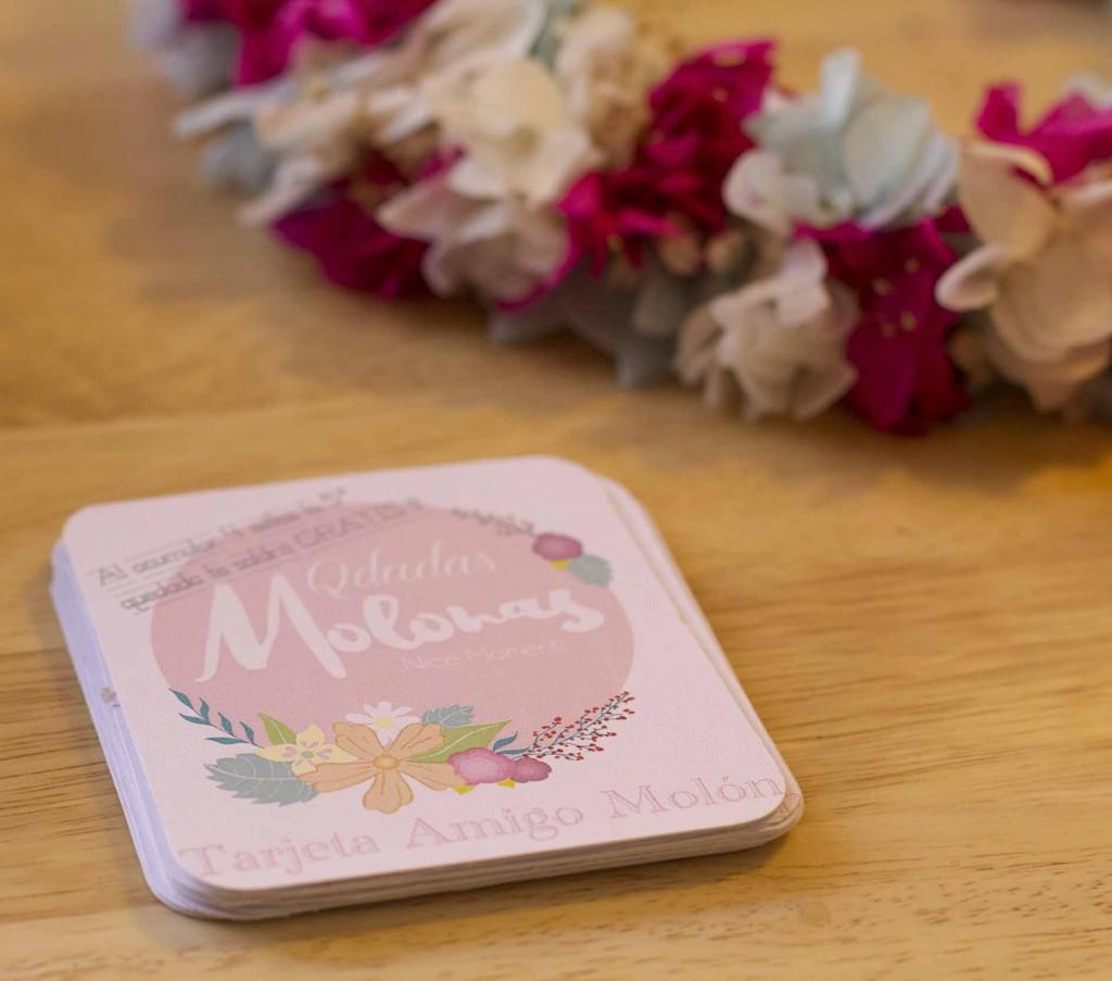 Corona de flores preservadas de The Frogs Kiss en la Qdada Molona. Blog de moda y lifestyle Increible pero cierzo. La MAgnifique Fete