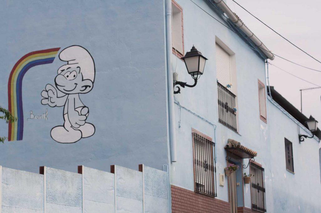 Pueblo Pitufo Juzcar Malaga por el blog lifestyle Increíble pero cierzo laguiago.com