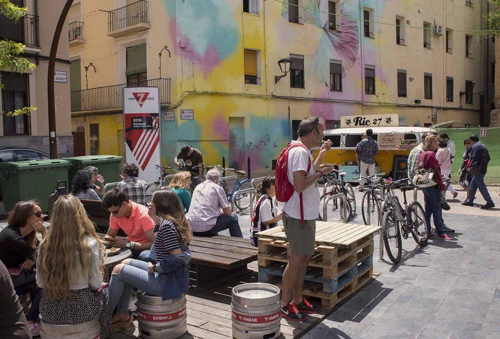 catatruck food truck en Las Armas Zaragoza por increíble pero cierzo