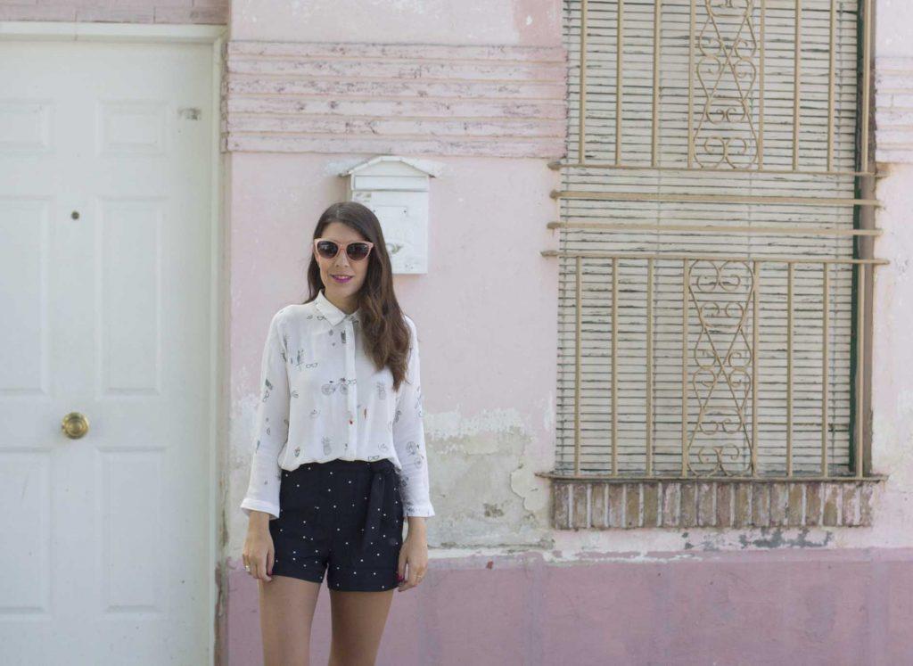 Camisa naif dibujos Zara. Blog de moda Increible pero cierzo