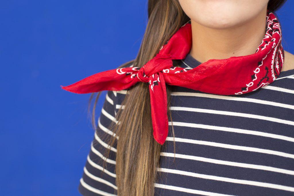 moda de las bandanas en el blog de moda bandana cuello increible pero cierzo