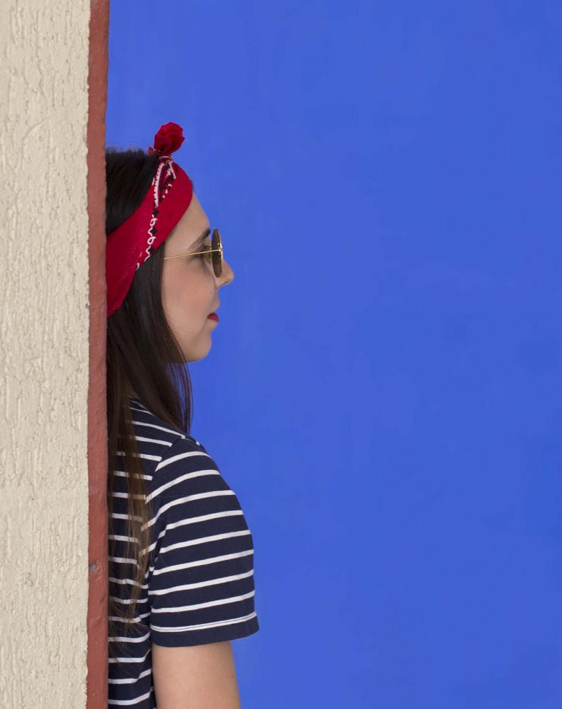 moda de las bandana cabeza increible pero cierzo