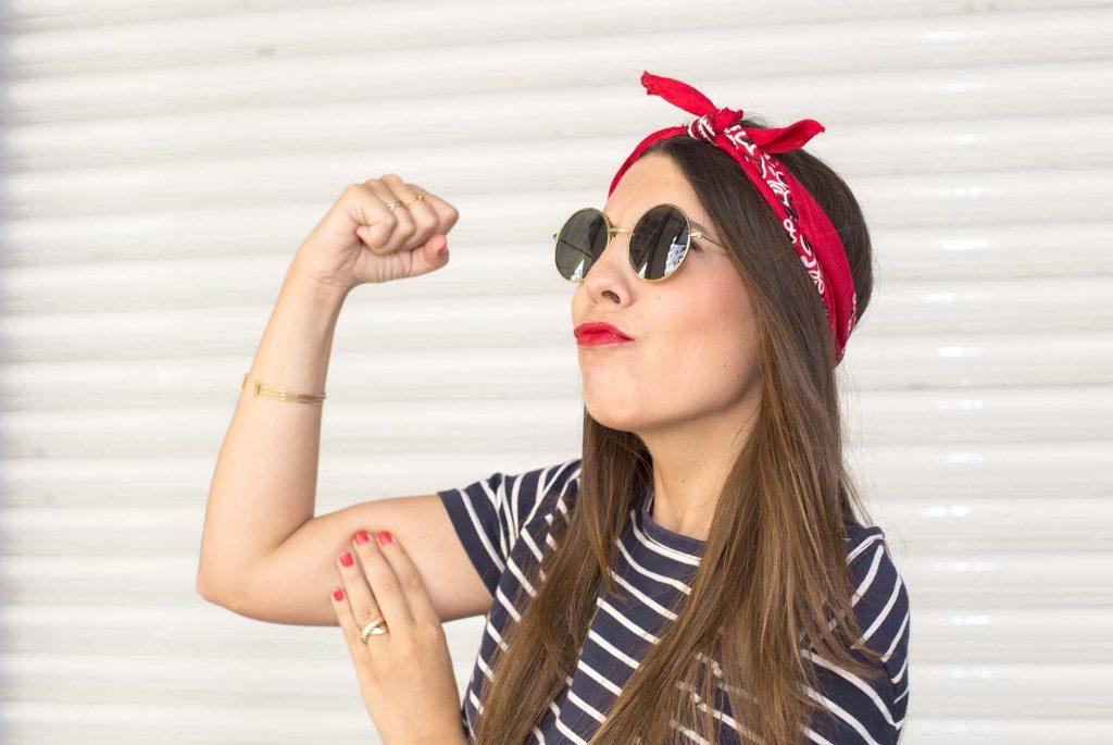 moda de las bandanas en el blog de moda cabeza increible pero cierzo