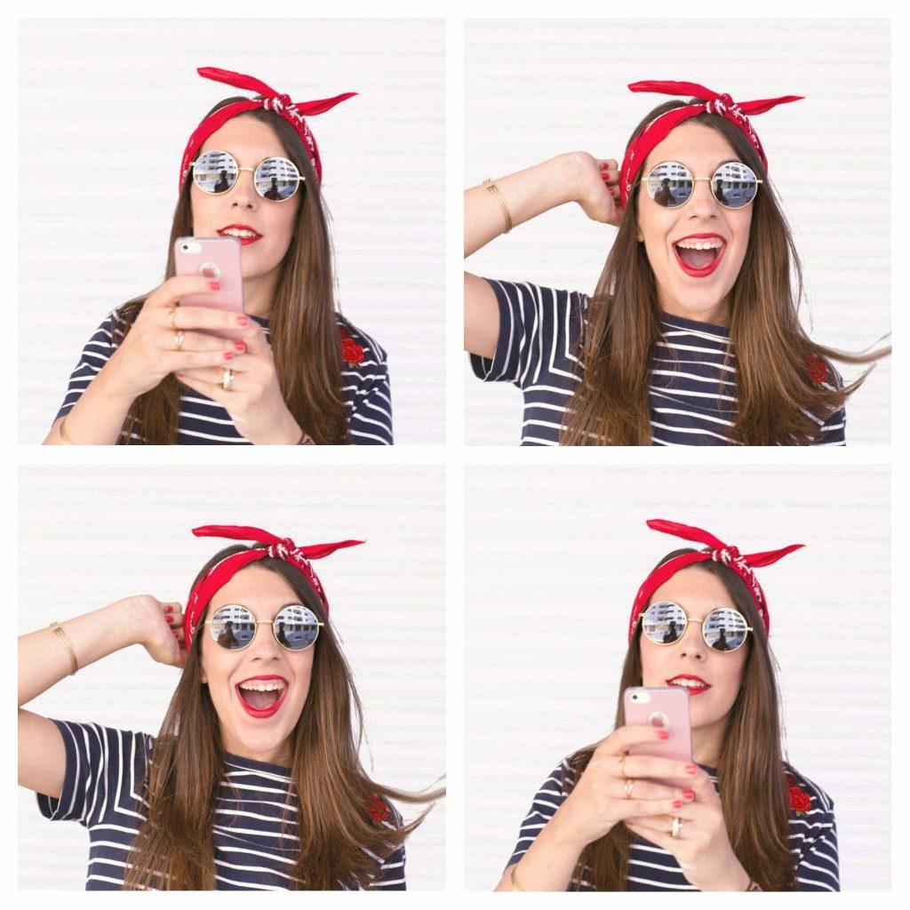 moda de las bandanas en la cabeza en el blog de moda increible pero cierzo