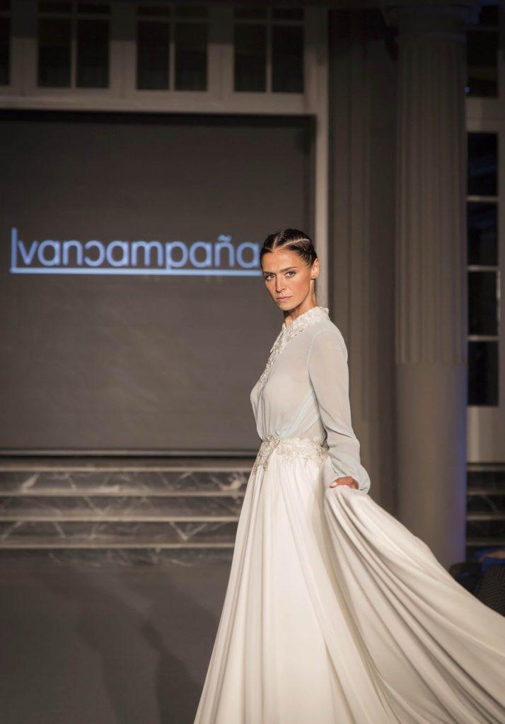Desfile moda nupcial Ivan Campaña Gran Hotel Zaragoza por el blog de moda increible pero cierzo