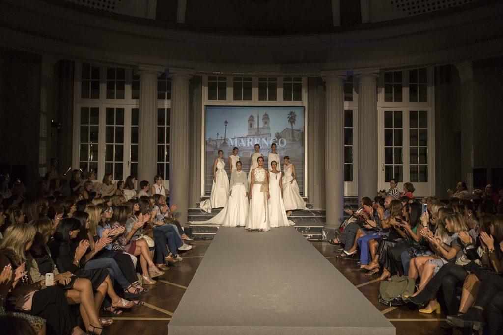 Desfile moda nupcial Gran Hotel Zaragoza por el blog de moda increible pero cierzo