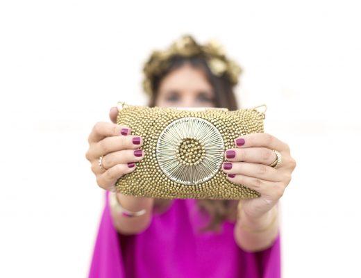 Alquiler de Bolso joya de fiesta de Bcoqui en La Mas Mona en el blog de moda increible pero cierzo