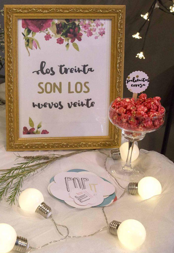 Candy Bar palomitas gourmet pop it en Los Girasoles Zaragoza en el blog incredible pero cierzo
