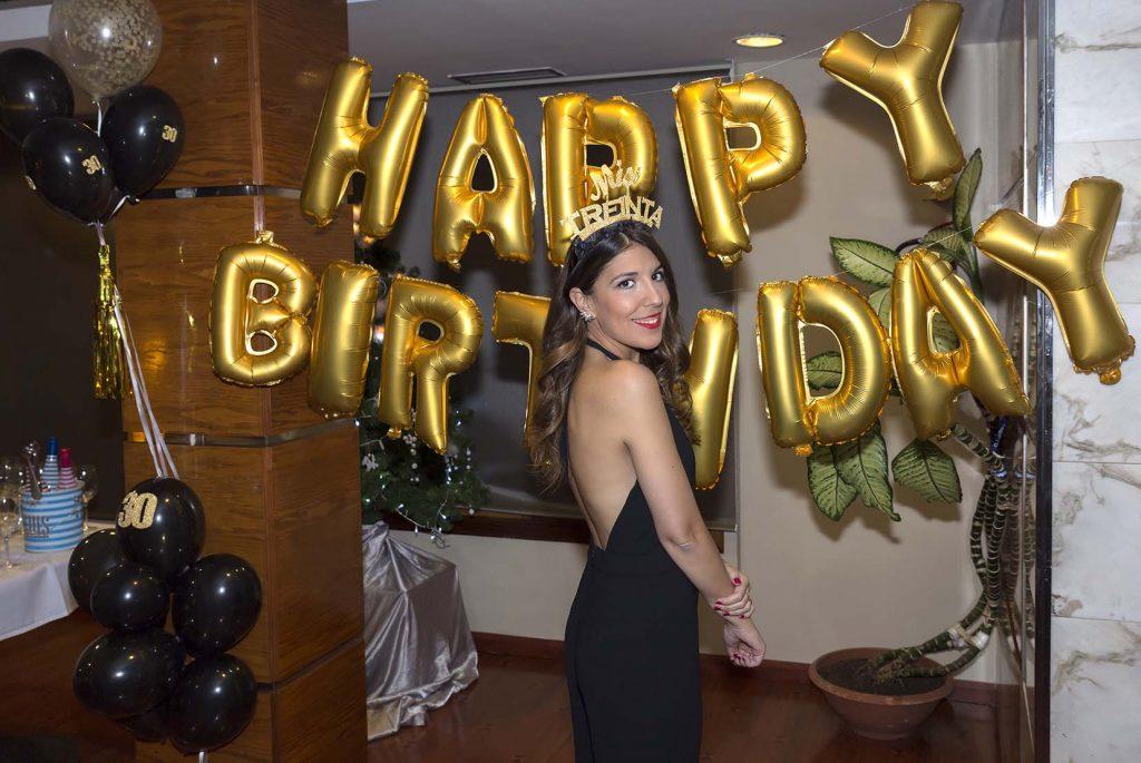 30 cumpleaños Los Girasoles Zaragoza con Party Party Zgz en el blog de lifestyle increíble pero cierzo