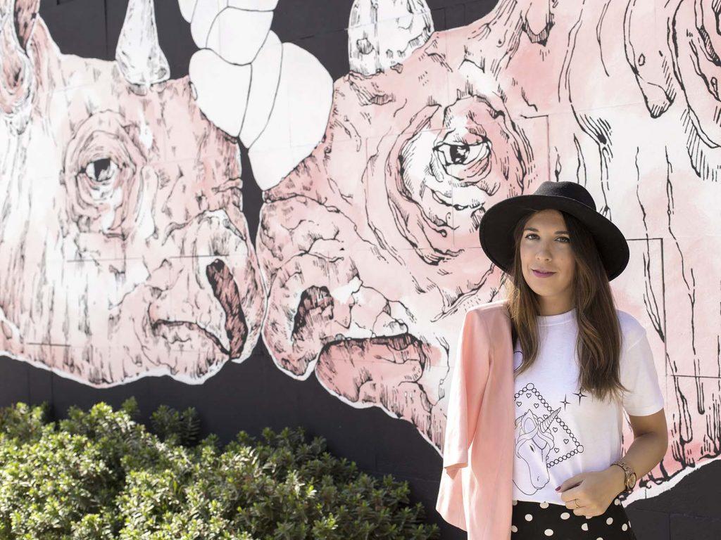 camiseta de unicornios en festival asalto Zaragoza rinocornios