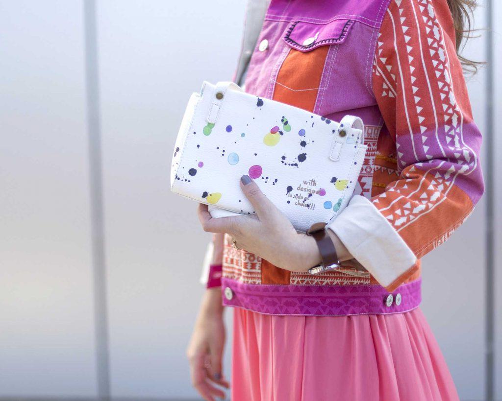 Desigual cazadora Circini y bolso look primavera en el blog de moda increible pero cierzo