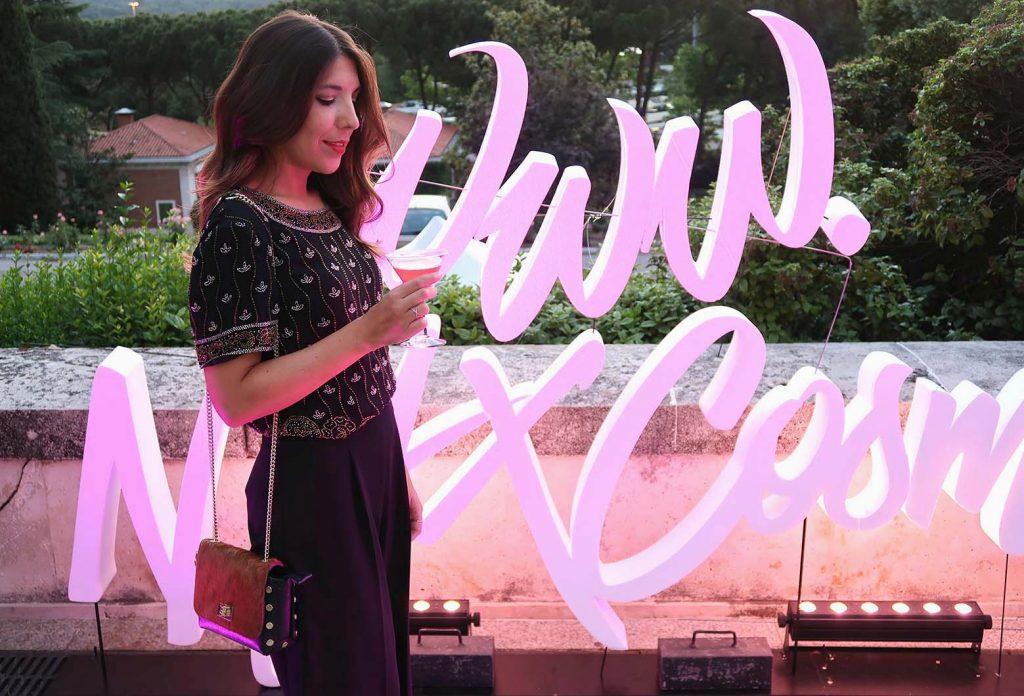 Fiesta NYX Madrid lanzamiento web en el blog de moda increíble pero cierzo