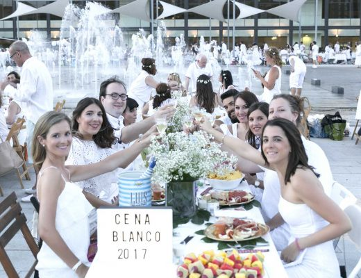 Cena en blanco zaragoza 2017 en el blog de moda y lifestyle increíble pero cierzo