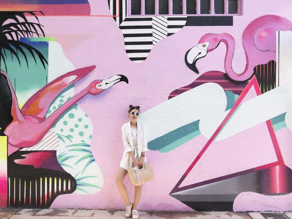 Traje corto de rayas en blanco y negro de Bershka en el blog de moda increíble pero cierzo