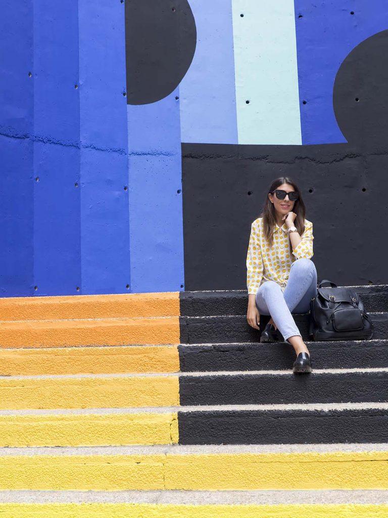 Festival Asalto 2017 Zaragoza, graffiti Zest en el blog de Zaragoza Increíble pero cierzo. Gafas de sol Monglam