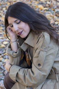 Look moda Gabardina XXL en el blog de moda increíble pero cierzo. Fotos kinojam