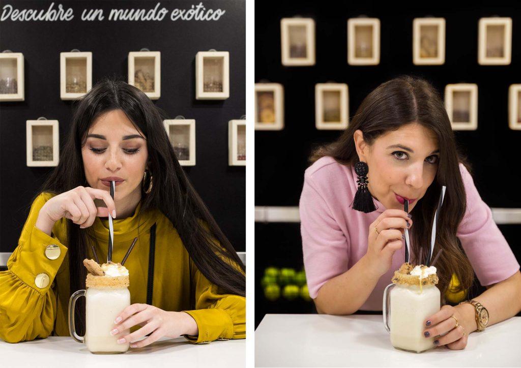 Almucaste e Increíble pero cierzo en Makoondo Coctelería Zaragoza
