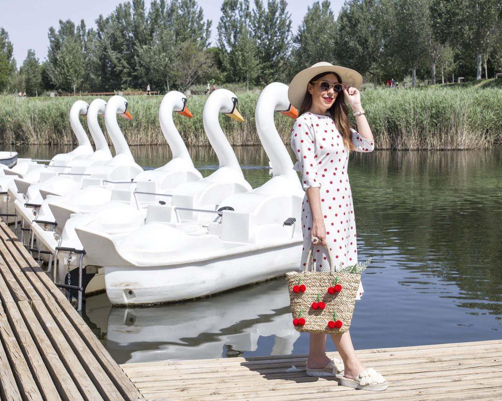 CLP Shop vestido topos moda en el blog increíble pero cierzo