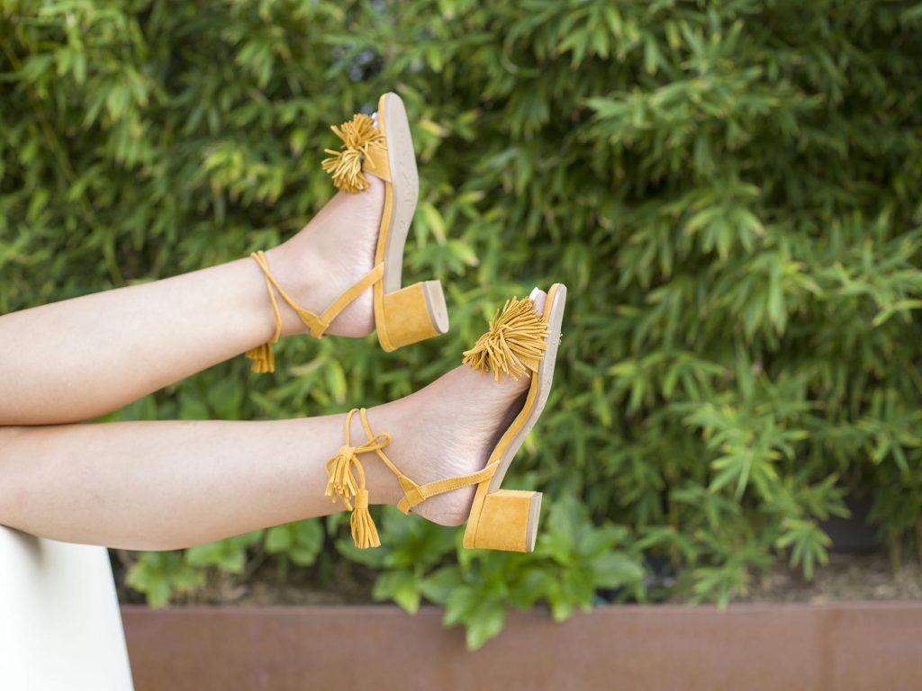 Sandalias Greta Calzados Roldan en el blog de moda increible pero cierzo