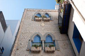La casa de las conchas peñiscola, castellón