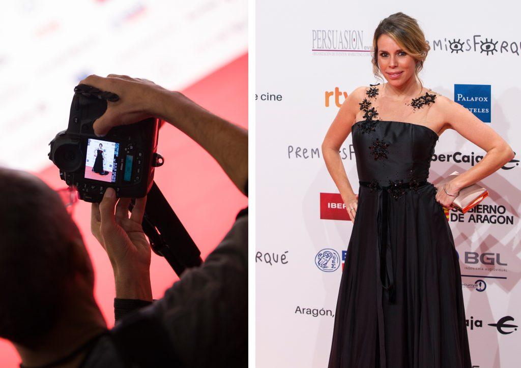Athenea Mata. Mejor vestidas de los premios forque 2019