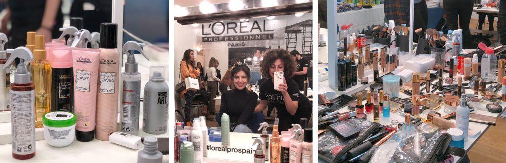 backstage premios forque 2019 L'Oreal Pro